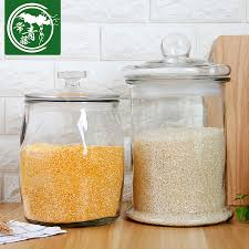Buy Ivy rice barrels of unleaded glass sealed cans of whole grains storage  box stockholders moisture meter barrel pest rice cylinder in Cheap Price on  m.alibaba.com