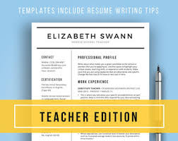 Free Teaching Resume Templates 13 Best Resumes Images On Pinterest