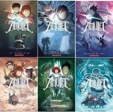 amulet amulet series 6 book set amulet the stonekeeper the stonekeeper s
