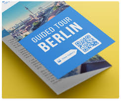 Photo Brochure How To Use Qr Codes On Brochures Qr Code Generator