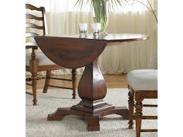 cabinet round drop leaf dining table