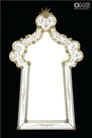 venetian glass mirror wall mirror glass rivera venetian glass gold patterned mirrored sideboard