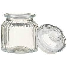 337374 decorative glass storage jar 3