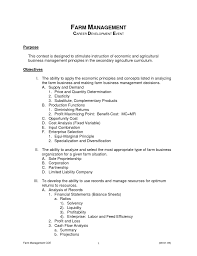 Farm Manager Resume Beautiful Farm Manager Resume Pictures Best Resume Examples And 18