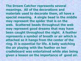 Meaning Behind Dream Catchers Dream Catchers By Thomas Royko According To Native Americans 15