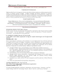 Financial Controller Resume Examples Examples Of Resumes