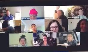 Woman Goes To The Bathroom Forgets She S On A Zoom Meeting