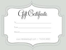 Free Business Gift Certificate Template Free Printable Blank Gift Certificate Templates Valid Free Printable 18