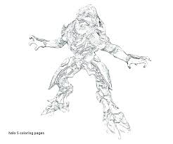 Halo Reach Coloring Pages Halo Reach Spartan Coloring Pages Fresh