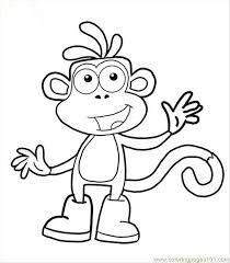 Small Picture Dora Boots Coloring Pages FunyColoring