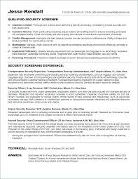 Airport Security Resume Sample Best Of Transportation Security Officer Airport Security Resume Sample