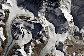 Image result for mount everest satellite view - rongbuk glacier