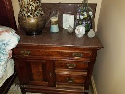 Mahogany bed frame and dresser/night stand combo for Sale in Norcross, GA - OfferUp