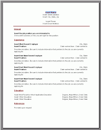 fillable resumes
