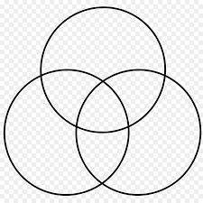 Transparent Venn Diagram White Circle