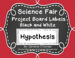 science fair headings printable science fair project board headings black white labels tpt