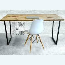 reclaimed wood office. Reclaimed Wood Desk Table For Office Modern With Top In