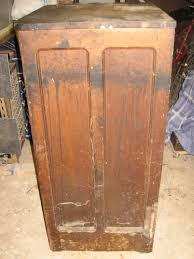the cabinet as it arrived