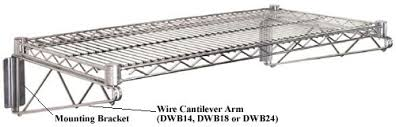wall mounted wire shelving. CANTILEVER WALL MOUNT UNITS Wall Mounted Wire Shelving I