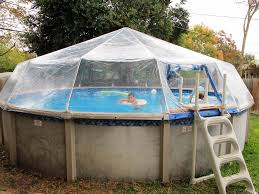 Unique Above Ground Swimming Pool Dome Covers Ideas Swimming Pool
