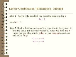 solve the linear system using elimination math linear combination elimination method math playground red ball