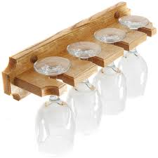 wall mounted wine glass rack image