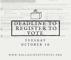 Check Register In Pdf Cool Dallas Elections On Twitter Dallas County Residents Remember The