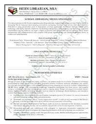 Librarian Resume Template Media Librarian Resume Sample Page 1 Template