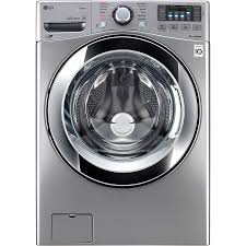 LG TWINWash Compatible 4.5-cu ft High-Efficiency Stackable Front-Load Washer  (