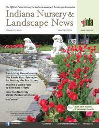 Landscape Design Evansville Indiana Indiana Nursery Landscape News Marapr2017 By Indiana