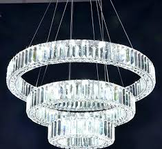 circle crystal chandelier bars black picture more detailed about luxury led with regard to popular
