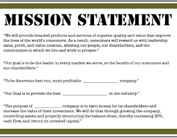 Mission Statement Example Personal Mission Statement 2019 Download Now
