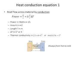 heat conduction equation 1