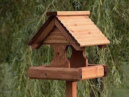 bird tables wooden bird tables
