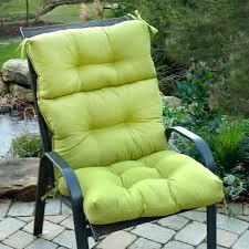 high back patio cushions