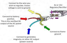 4 pin voltage regulator wiring diagram 4 image 4 pin regulator rectifier wiring diagram 4 auto wiring diagram on 4 pin voltage regulator wiring