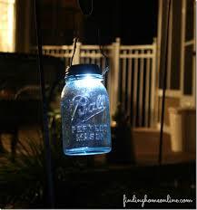solar light diy mason jar