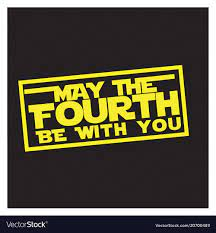 May the 4th Be with You Logo White ...