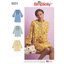 Simplicity Patterns Adorable Simplicity Simplicity Pattern 48 Misses' Dress or Tunic