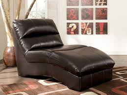 ... Furniture The Most Comfortable Reading Chair For Relaxing Time Espresso  Leather Chaise Lounge With Pillow Top ...
