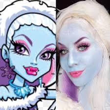 abbey bominable monster high makeup tutorial tha eyeball queen