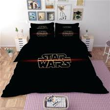 star wars bedding image is loading star wars bedding set duvet cover and pillow star wars