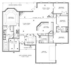 4 bedroom floor plans. 4 Bedroom Floor Plan Brilliant Remarkable Ideas Plans . Inspiration T