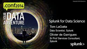 Splunk For Datascience Conf2014