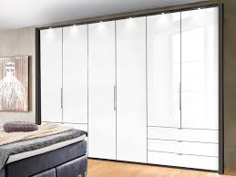 Kleiderschrank Loft Glasdekor Weiß Wiemann Loft Bht 300x216x58 Cm