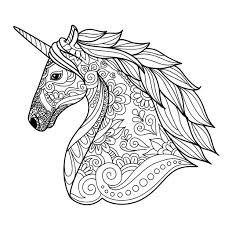 1 unicorn books for preschoolers & kindergarteners. Unicorn Coloring Pages Coloring Rocks