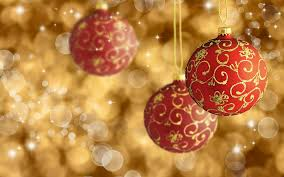 Furnitures Gold Christmas Ornaments Red And Ornament Happy On Sale