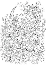 Ocean Scene Coloring Pages Ocean Scene Coloring Pages Free Coloring