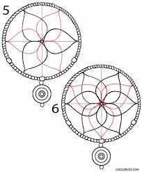 Drawn Dream Catchers How to Draw a Dreamcatcher Step by Step Cool100bKids 27