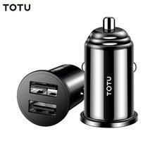 TOTU Mini Dual USB <b>Автомобильное зарядное устройство</b> ...